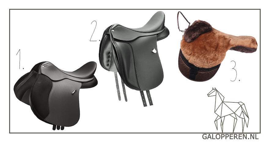 Paardenzadel-Galopperen
